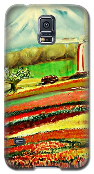The Tulip Farm Galaxy S5 Case by Mindy Bench