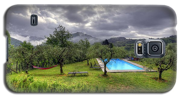 The Tuscan Villa Pool Galaxy S5 Case