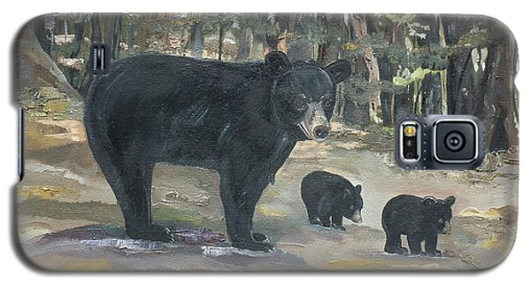 Cubs - Bears - Goldilocks And The Three Bears Galaxy S5 Case by Jan Dappen
