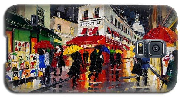 The Umbrellas Of Montmartre Galaxy S5 Case