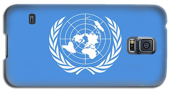 The United Nations Flag  Authentic Version Galaxy S5 Case by Bruce Stanfield