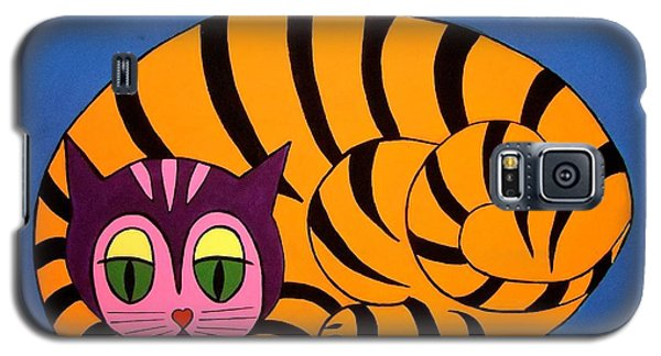 The Unity Cat Galaxy S5 Case by Stephanie Moore
