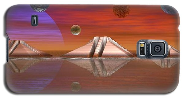 Galaxy S5 Case featuring the digital art The Unknown by Jacqueline Lloyd