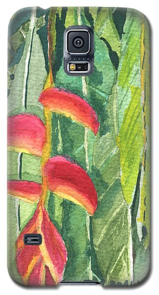The Upside Down Flower Galaxy S5 Case
