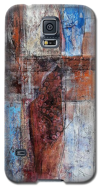 Galaxy S5 Case featuring the painting The Urban Frontier by Buck Buchheister