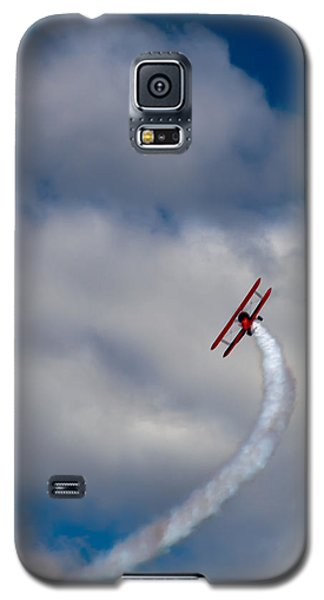 Airplane Galaxy S5 Case - The Vapor Trail by David Patterson