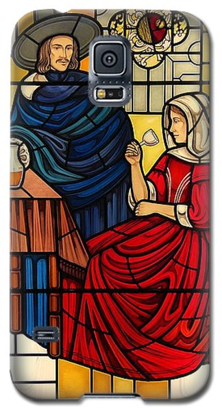 The Vermeer Galaxy S5 Case by Gilroy Stained Glass
