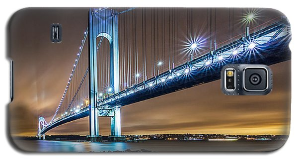 Galaxy S5 Case featuring the photograph The Verrazano by Anthony Fields