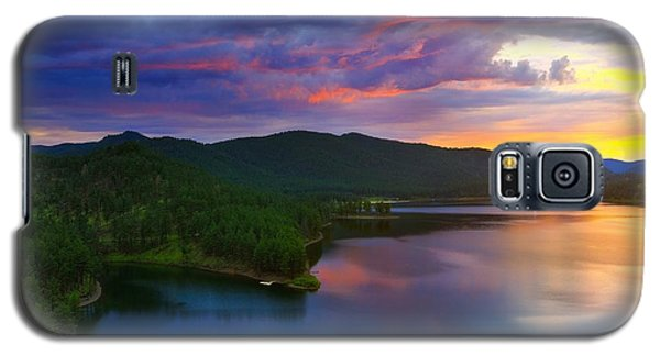 Galaxy S5 Case featuring the photograph The Vibrant Storm by Kadek Susanto
