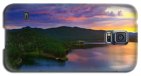 The Vibrant Storm Galaxy S5 Case