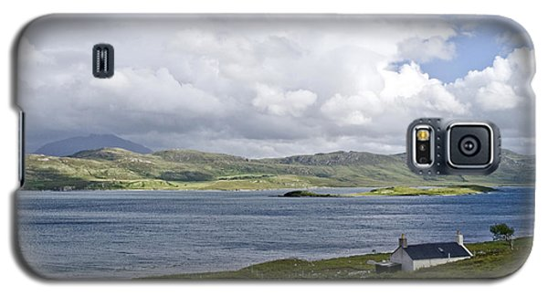 Galaxy S5 Case featuring the photograph The View Northern Highlands Of Scotland by Sally Ross