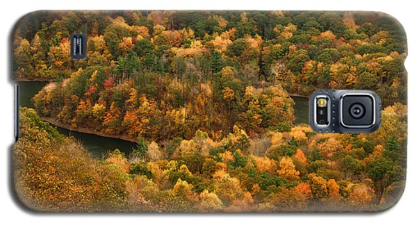Galaxy S5 Case featuring the photograph The View On Top Of Castle Craig by Raymond Earley