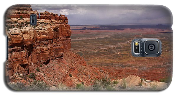 The View South From Moki Dugway Galaxy S5 Case by Butch Lombardi