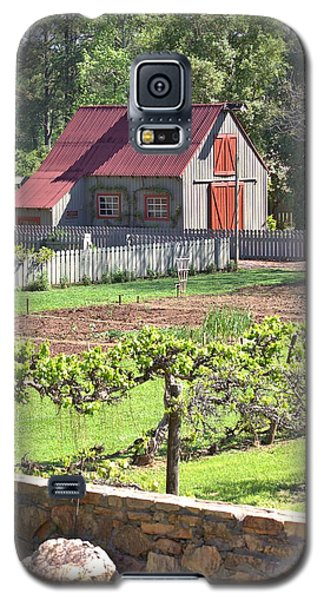 The Vineyard Barn Galaxy S5 Case