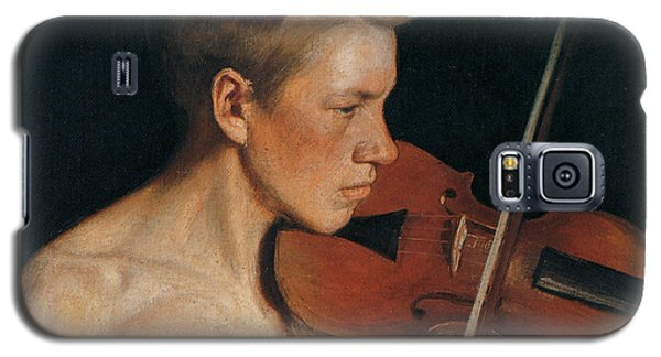 The Violinist Galaxy S5 Case by Celestial Images