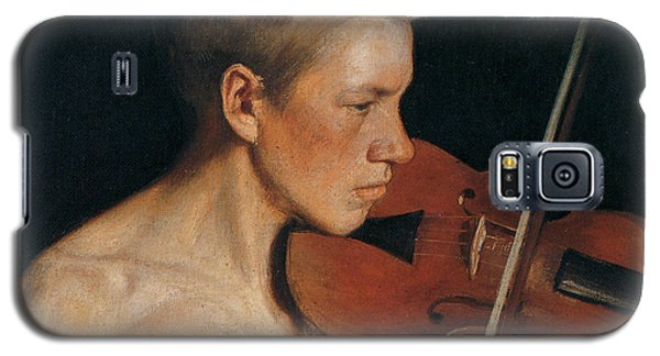 Violin Galaxy S5 Case - The Violinist by Celestial Images