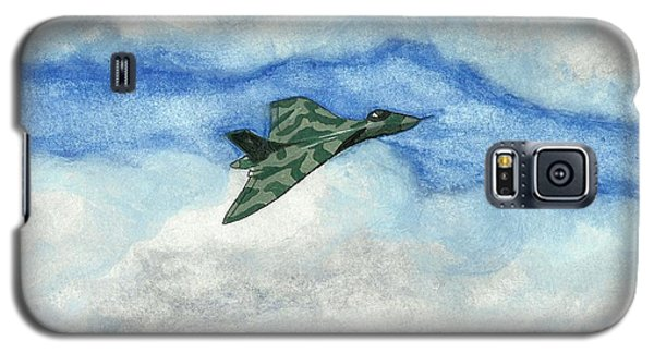 Galaxy S5 Case featuring the painting The Vulcan Bomber by John Williams
