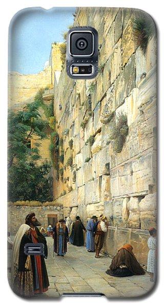 The Wailing Wall Jerusalem Galaxy S5 Case