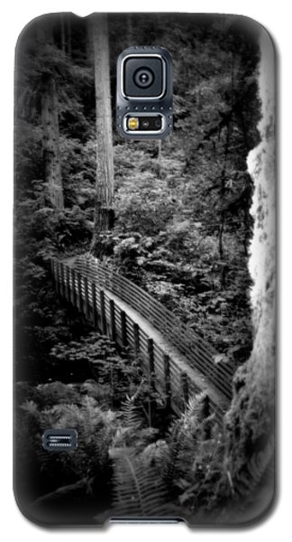 Galaxy S5 Case featuring the photograph The Walk Above by Amanda Eberly-Kudamik