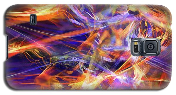 Galaxy S5 Case featuring the digital art The Walk by Margie Chapman