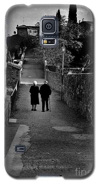 The Walk Of Life Galaxy S5 Case by Henry Kowalski