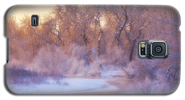 Ice Galaxy S5 Case - The Warmth Of Winter by Darren  White