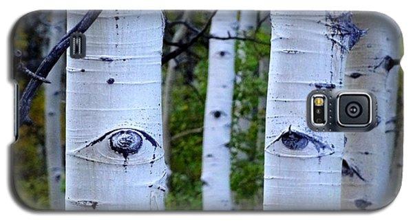The Watcher Galaxy S5 Case by Lanita Williams