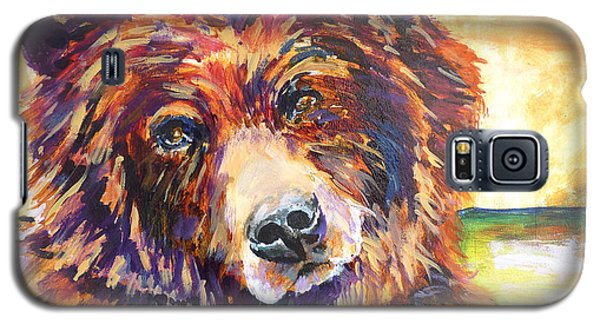 Galaxy S5 Case featuring the painting The Water Bear by P Maure Bausch