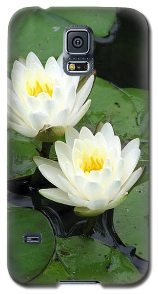 Galaxy S5 Case featuring the photograph The Water Lilies Collection - 07 by Pamela Critchlow