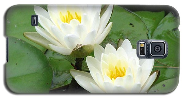 Galaxy S5 Case featuring the photograph The Water Lilies Collection - 08 by Pamela Critchlow
