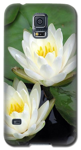 Galaxy S5 Case featuring the photograph The Water Lilies Collection - 12 by Pamela Critchlow