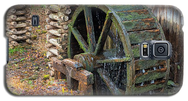 The Water Wheel At Cable Grist Mill Galaxy S5 Case