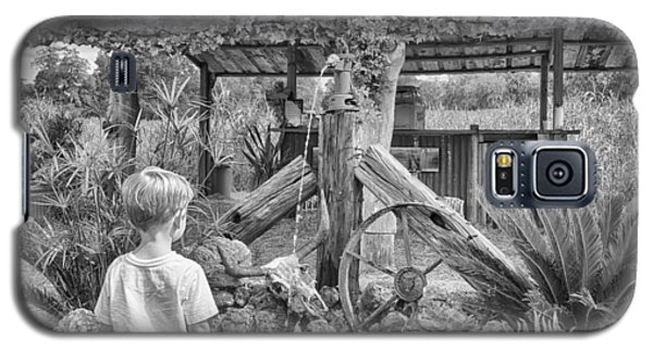 Galaxy S5 Case featuring the photograph The Watering Hole by Howard Salmon