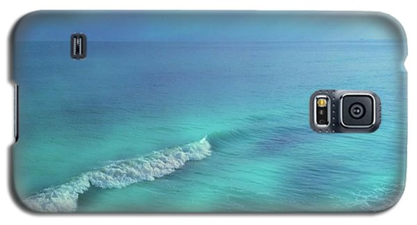 The Wave Galaxy S5 Case by Becky Lupe