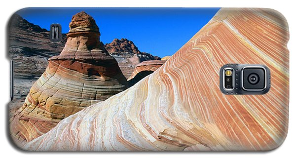 Galaxy S5 Case featuring the photograph 'the Wave' North Coyote Buttes 10 by Jeff Brunton