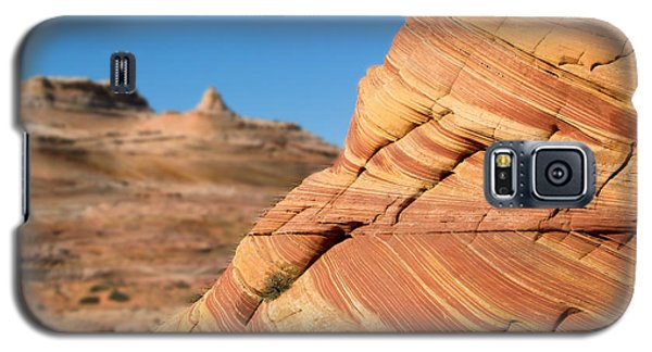 Galaxy S5 Case featuring the photograph 'the Wave' North Coyote Buttes 13 by Jeff Brunton