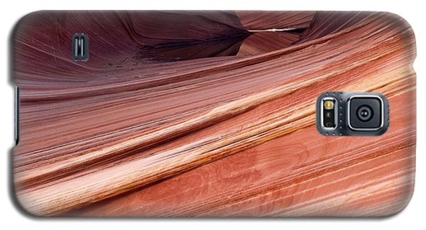 Galaxy S5 Case featuring the photograph 'the Wave' North Coyote Buttes 62 by Jeff Brunton