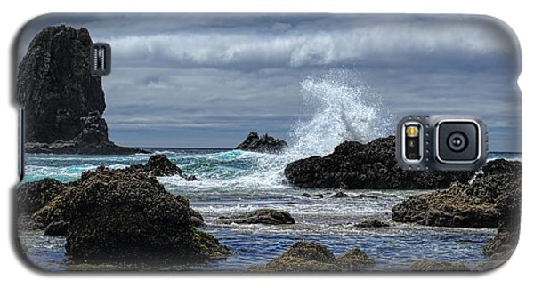 The Waves At Haystack Rock Galaxy S5 Case