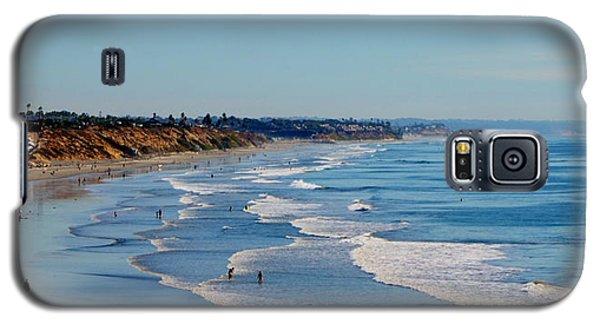 The Waves In Carlsbad Beach California  Galaxy S5 Case