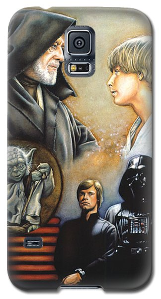 Knight Galaxy S5 Case - The Way Of The Force by Edward Draganski