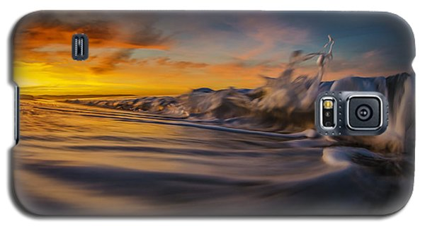 Galaxy S5 Case featuring the photograph The Way Of The Wave by Sean Foster