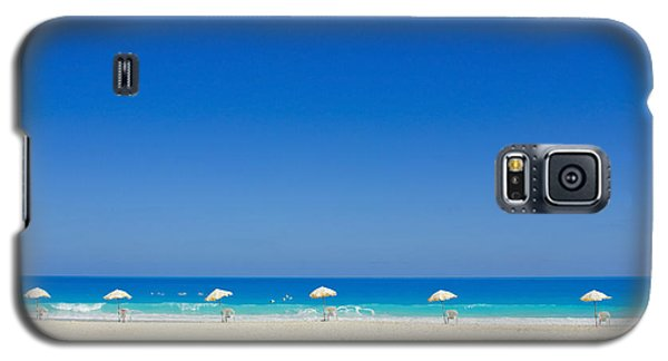 Galaxy S5 Case featuring the photograph The Way To The Beach by Mohamed Elkhamisy