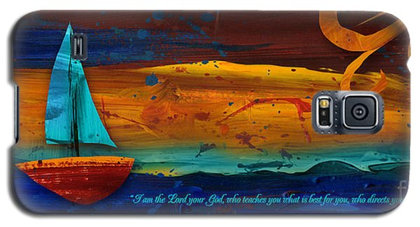 Galaxy S5 Case featuring the mixed media The Way You Should Go by Shevon Johnson