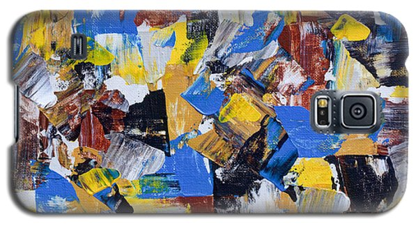 Galaxy S5 Case featuring the painting The Weekend by Heidi Smith