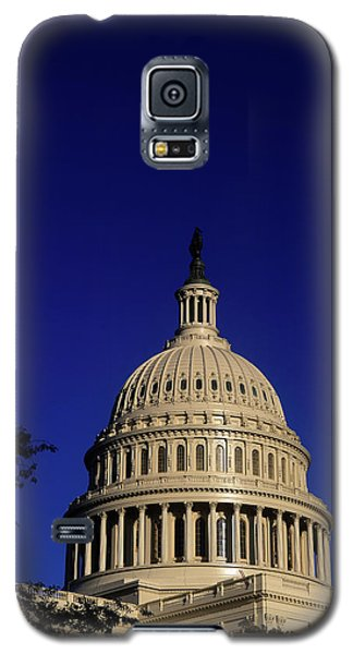 Capitol Building Galaxy S5 Case - The West Side Of The United States by Dennis Brack