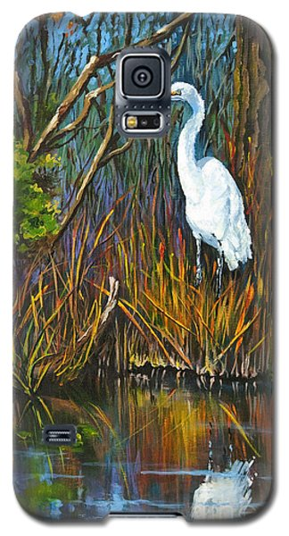 The White Heron Galaxy S5 Case by Dianne Parks