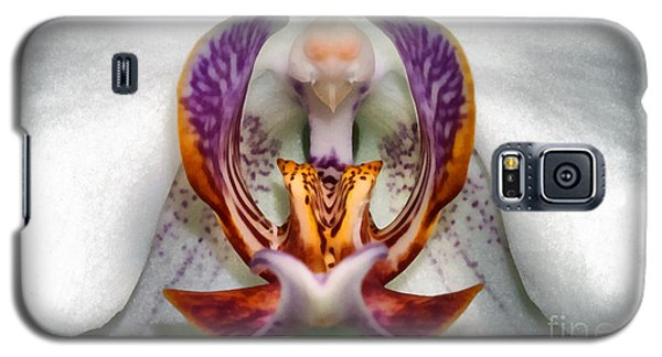 The White Orchid Galaxy S5 Case by Odon Czintos