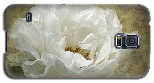 The White Peony Galaxy S5 Case by Barbara Orenya