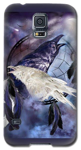 The White Raven Galaxy S5 Case by Carol Cavalaris