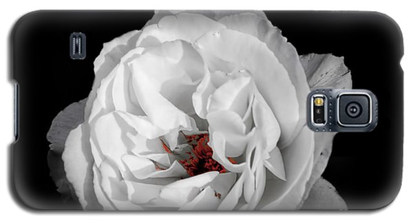 The White Rose Galaxy S5 Case